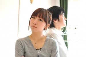 根本雅崇&裕加のパートナーシップセミナー、パートナーに背を向けるイメージ